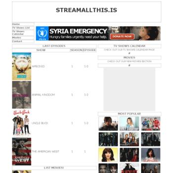 streamallthis me at wi streamallthis me website informer informer technologies inc