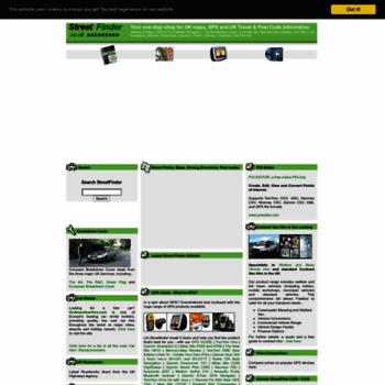Streetfinder.co.uk thumbnail