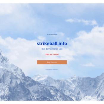 Strikeball.info thumbnail