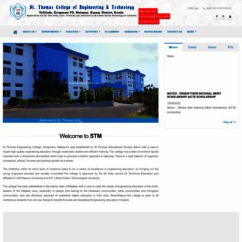 Stthomaskannur.ac.in thumbnail