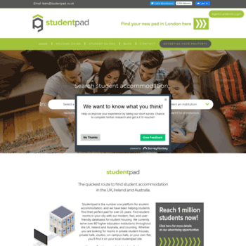 Studentpad.co.uk thumbnail