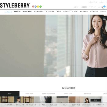Styleberry.jp thumbnail