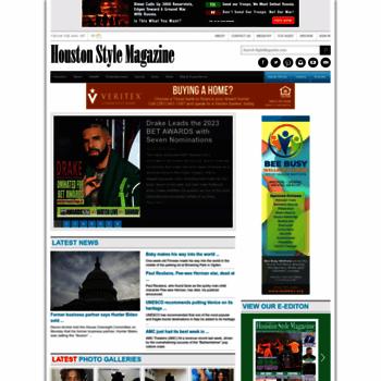 d4b34123f stylemagazine.com at WI. Houston Style Magazine | Urban Weekly ...