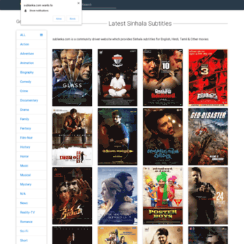 download movies with sinhala subtitles