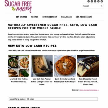 Sugarfreemom.com thumbnail