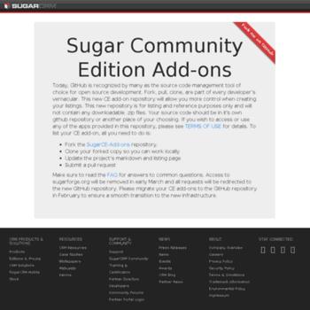 Sugaropensource.org thumbnail