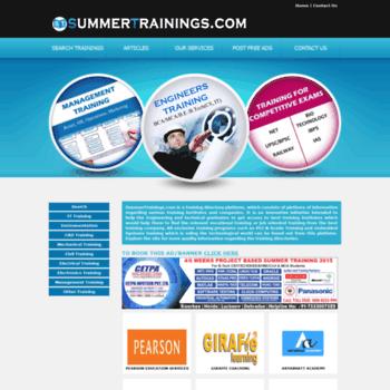 Summertrainings.com thumbnail