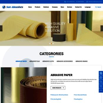 Sunabrasives.com.cn thumbnail