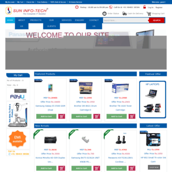 Suninfotechindia.com thumbnail