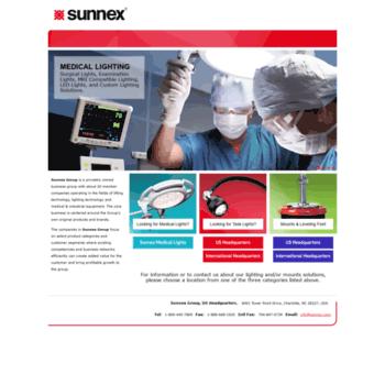 Sunnex.com thumbnail