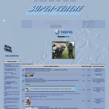 Super-tenere.org thumbnail