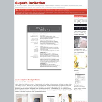 Superbinvitation.com thumbnail