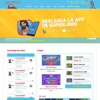 Superlibro Tv At Wi Sitio De Superlibro Para Ninos Juegos Gratis