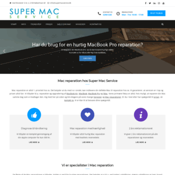 Supermacservice.dk thumbnail