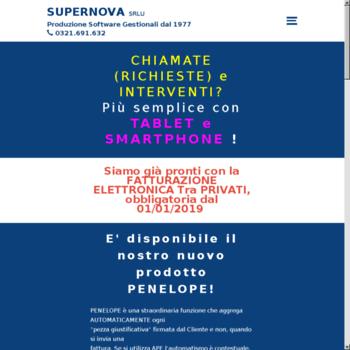 Supernovasrl.it thumbnail