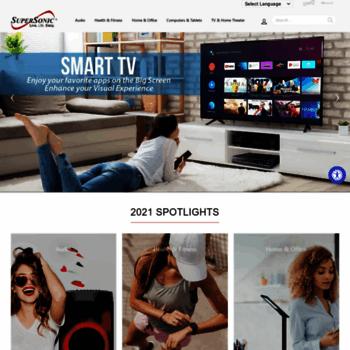 supersonicinc com at WI  Supersonic - Audio & Video Consumer