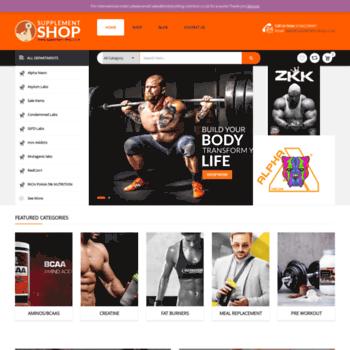 Supplement-shop.co.uk thumbnail
