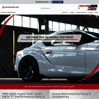 suprastore com at WI  Toyota Supra Performance Parts, Toyota