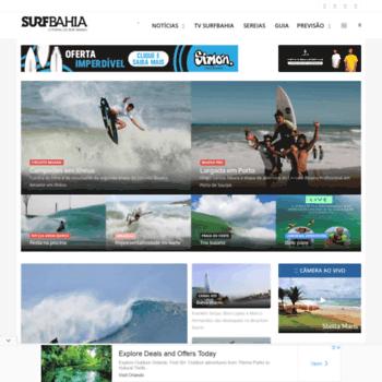 Surfbahia.com.br thumbnail