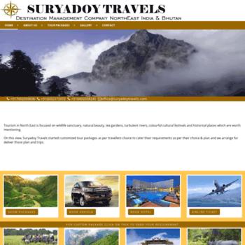 Suryadoytravels.com thumbnail