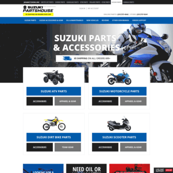 suzukipartshouse com at WI  Suzuki Parts House: Buy OEM