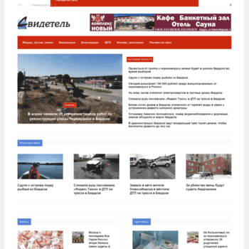 Веб сайт svidetel24.info