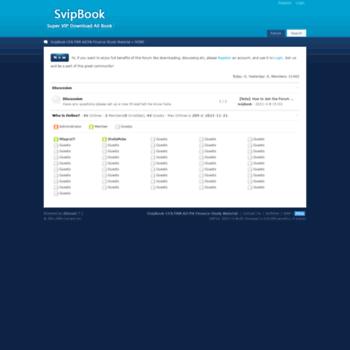 svipbook com at WI  SvipBook-CFA FRM AICPA SAS Finance Study