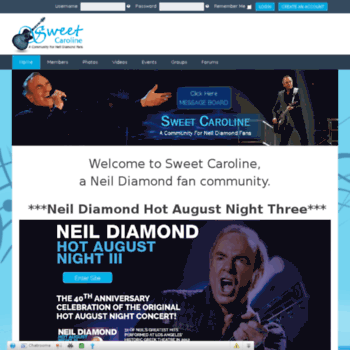 Sweetcaroline.com thumbnail