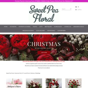 Sweetpeafloralandgift.com thumbnail