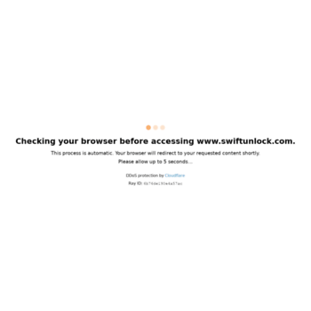 swiftunlock com at WI  SWIFT UNLOCK - Official Store Direct