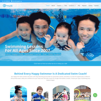 Swimminglessons.com.sg thumbnail
