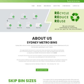 Sydneybins.com.au thumbnail