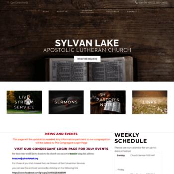 Sylvanlakealc.org thumbnail