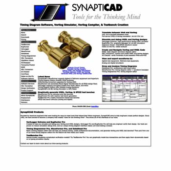 syncad com at WI  SynaptiCAD: Timing diagram software, Verilog