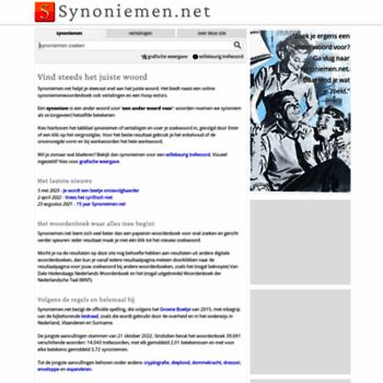 Synoniemen.net thumbnail
