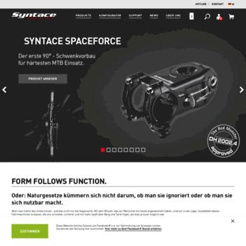 Syntace.de thumbnail