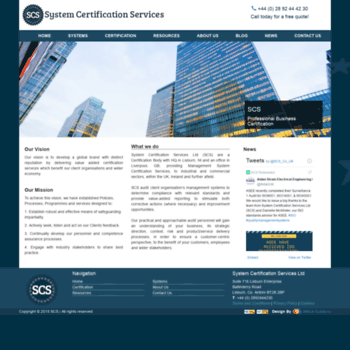 Systemcertification.co.uk thumbnail