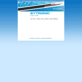 Sytronic-kabel.de thumbnail