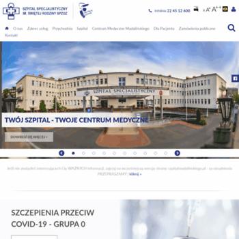Szpitalmadalinskiego.pl thumbnail