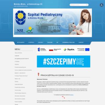 Szpitalpediatryczny.pl thumbnail