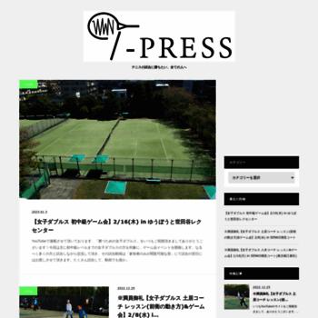 T-press.jp thumbnail