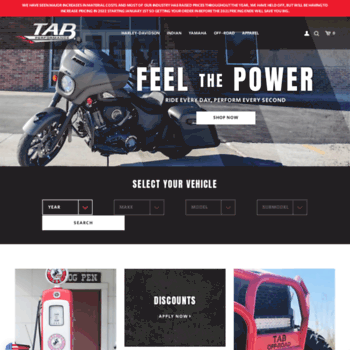 tabperformance com at WI  High Performance Aftermarket