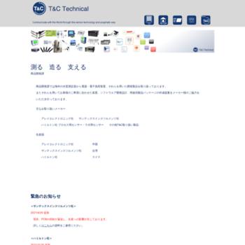 Tactec.jp thumbnail