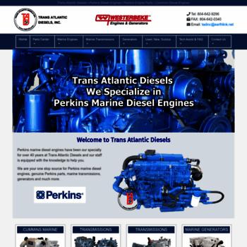 tadiesels com at WI  TAD for perkins engines, perkins diesel