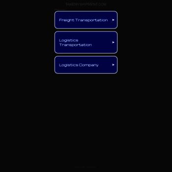 takemyshipment com at WI  Top transportation companies, transport