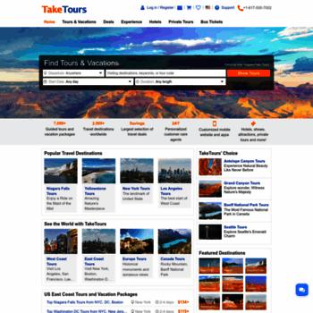 Taketours.com thumbnail