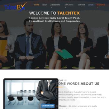 Talentex.in thumbnail