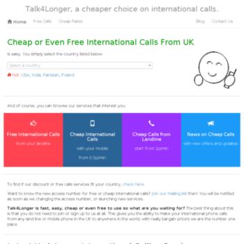 Talk4longer.net thumbnail