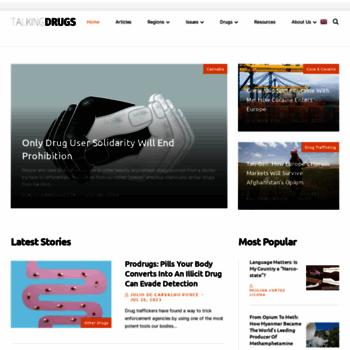 Talkingdrugs.org thumbnail