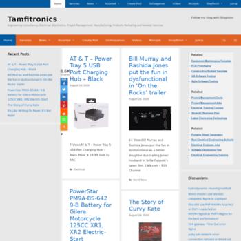 Tamfitronics.com thumbnail